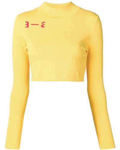 Футбольная желтая футболка Artica Arbox