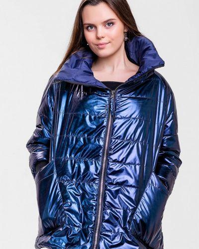 Утепленная куртка - синяя Sfn