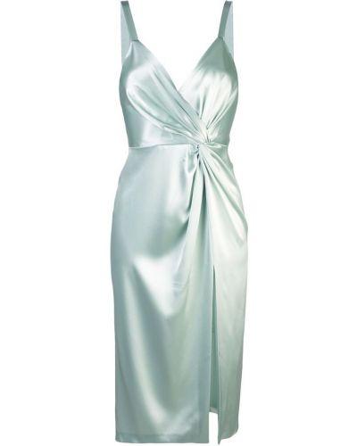 Платье миди с запахом с V-образным вырезом Jill Jill Stuart