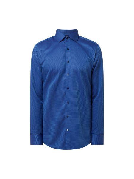 Niebieska koszula bawełniana Eterna