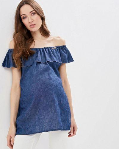 Блузка - синяя очаровательная адель