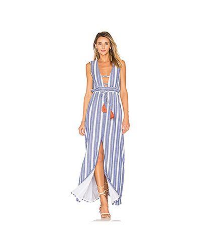 Вязаное платье макси пляжное Tularosa