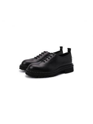 Черные итальянские туфли Attimonelli's