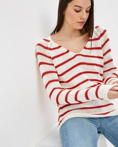 Белый пуловер Modis