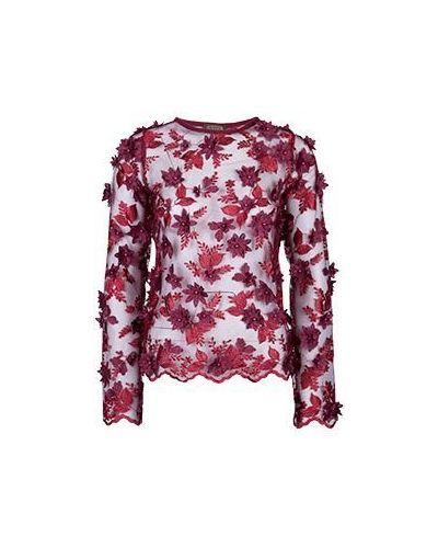 Блузка бордовый красная Via Torriani 88