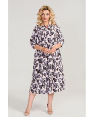 Платье оверсайз со складками марита
