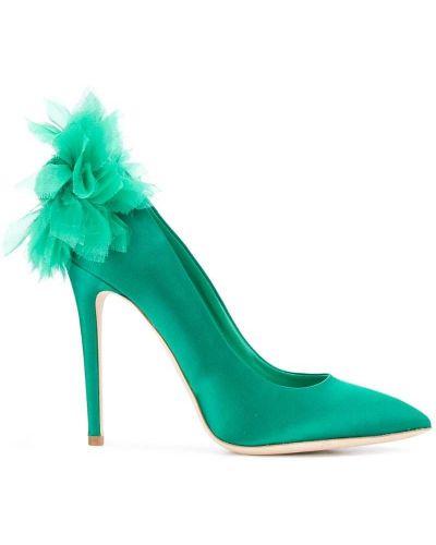Сатиновые туфли Olgana