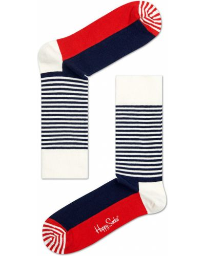 Носки хлопковые с узором Happy Socks