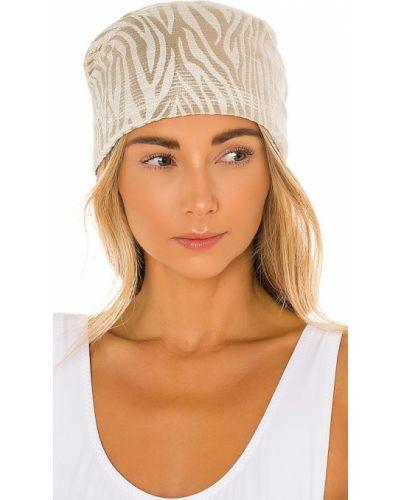 Bawełna bawełna turban złoto Eugenia Kim