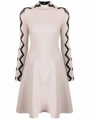 Приталенное платье миди Emporio Armani