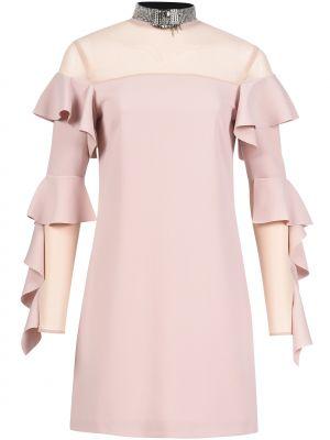 Платье осеннее розовое Pinko