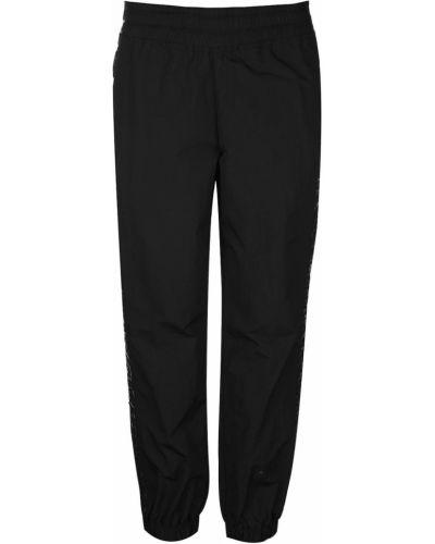 Prążkowane klasyczne czarne spodnie Reebok