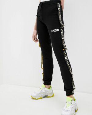 Черные пуховые спортивные брюки Comme Des Fuckdown
