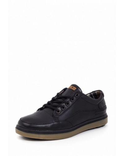 Ботинки осенние кожаные на каблуке Golovin