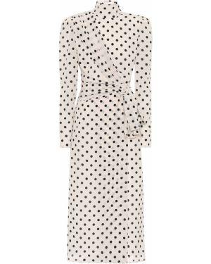 Платье винтажная шелковое Alessandra Rich