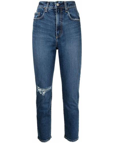 Хлопковые джинсы - синие Nobody Denim