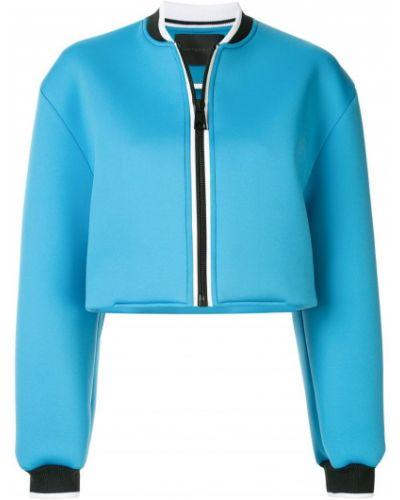 Синяя короткая куртка с манжетами Anteprima