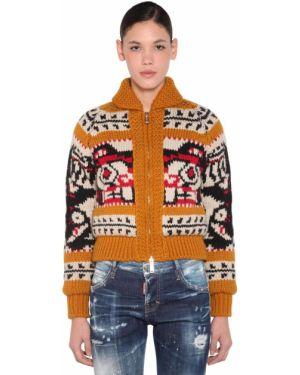 Пуловер из мохера Dsquared2