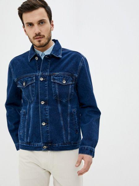 Синяя джинсовая куртка прозрачная Dairos