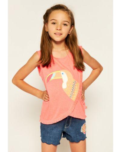 Różowa koszulka Billieblush