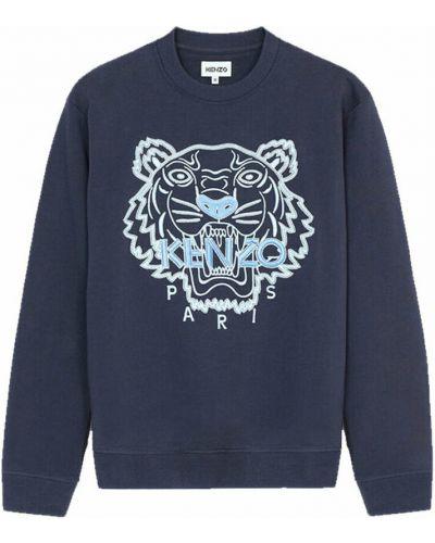 Bluza dresowa - niebieska Kenzo