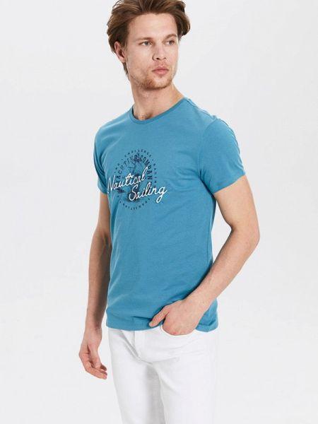 Синяя футболка Lc Waikiki