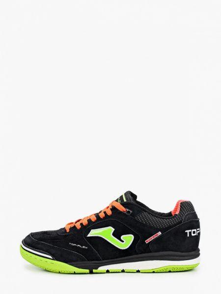 Черные кроссовки из нубука Joma
