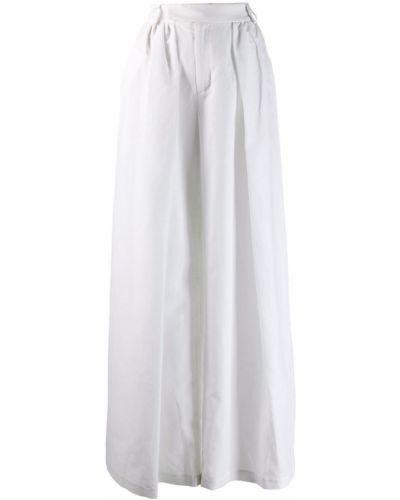Плиссированные свободные брюки с поясом Palomo Spain