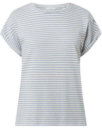 T-shirt bawełniana - niebieski Opus