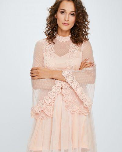 Платье мини прозрачное расклешенное Answear