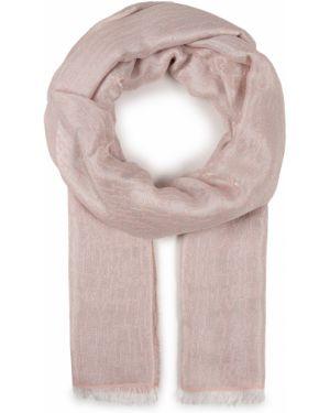 Różowa szal z wiskozy Marella