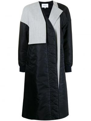 Długi płaszcz wełniany - biały Enfold