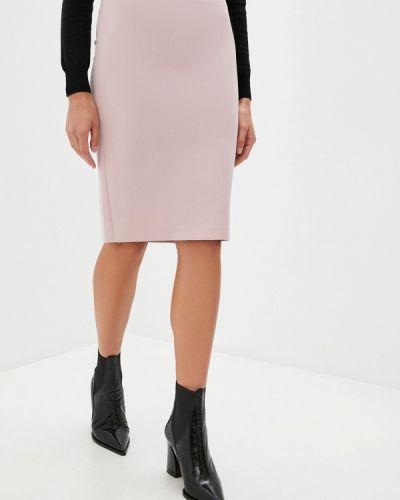 Розовая прямая юбка карандаш Blugirl Folies