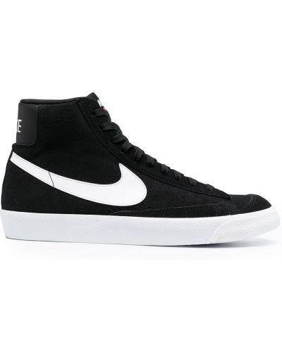 Koronkowa czarny top zasznurować Nike