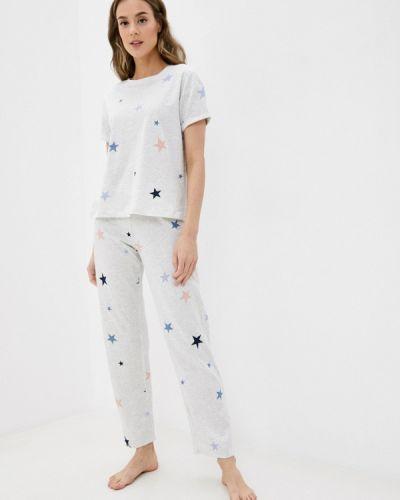 Серая пижамная пижама Marks & Spencer