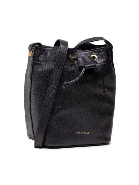 Czarna torebka casual Coccinelle