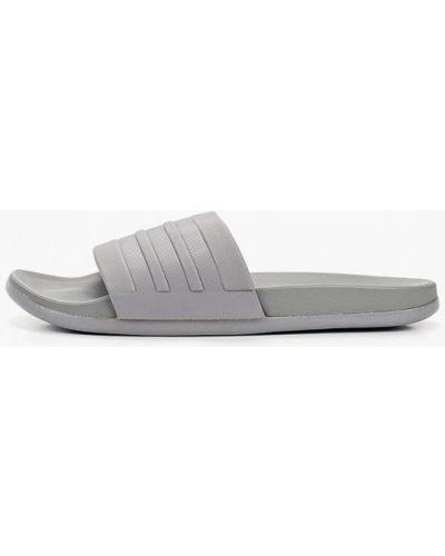Серые сланцы Adidas