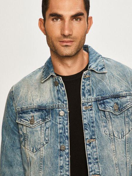 С рукавами джинсовая куртка с карманами с манжетами Only & Sons