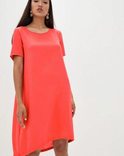 Повседневное красное платье Magnet