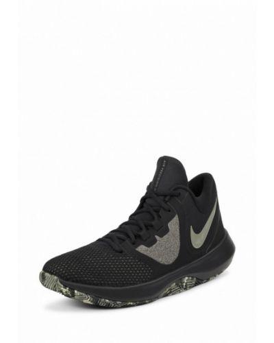 Черные кроссовки низкие Nike
