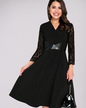 Платье платье-сарафан кожаное Charutti