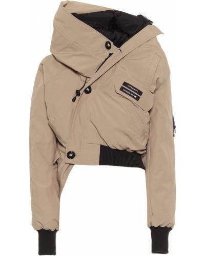 Пуховая ватная коричневая куртка Y/project