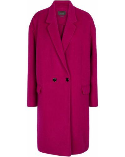 Кашемировое полупальто - розовое Isabel Marant