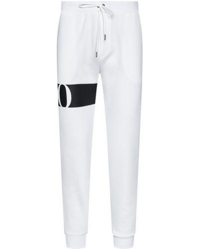 Białe spodnie dresowe Polo Ralph Lauren