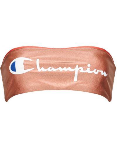 Pomarańczowy bikini Champion