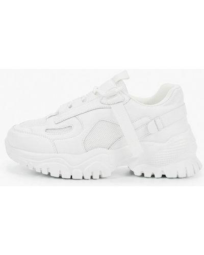 Кожаные кроссовки - белые Diora.rim
