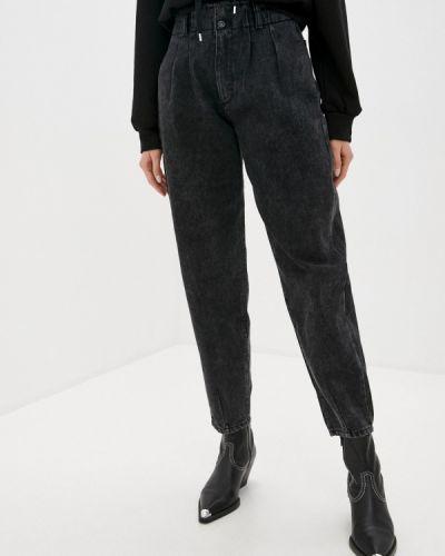 Расклешенные серые джинсы Mondigo