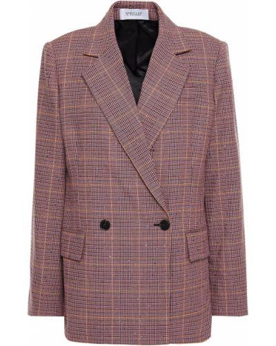 Пиджак двубортный с карманами с пайетками Derek Lam 10 Crosby