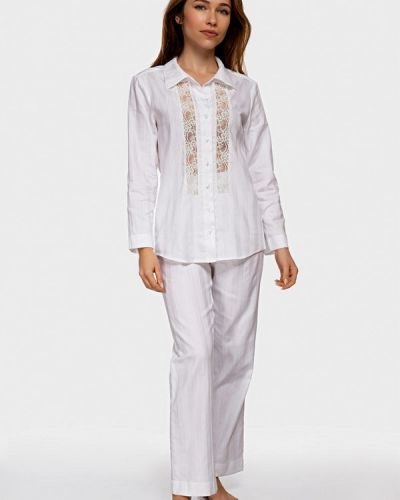 Пижама белая пижамный German Volf