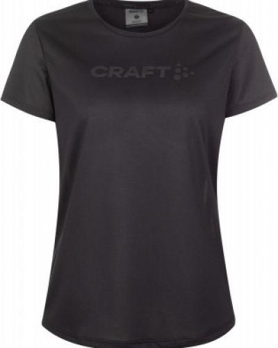 Прямая черная спортивная футболка Craft